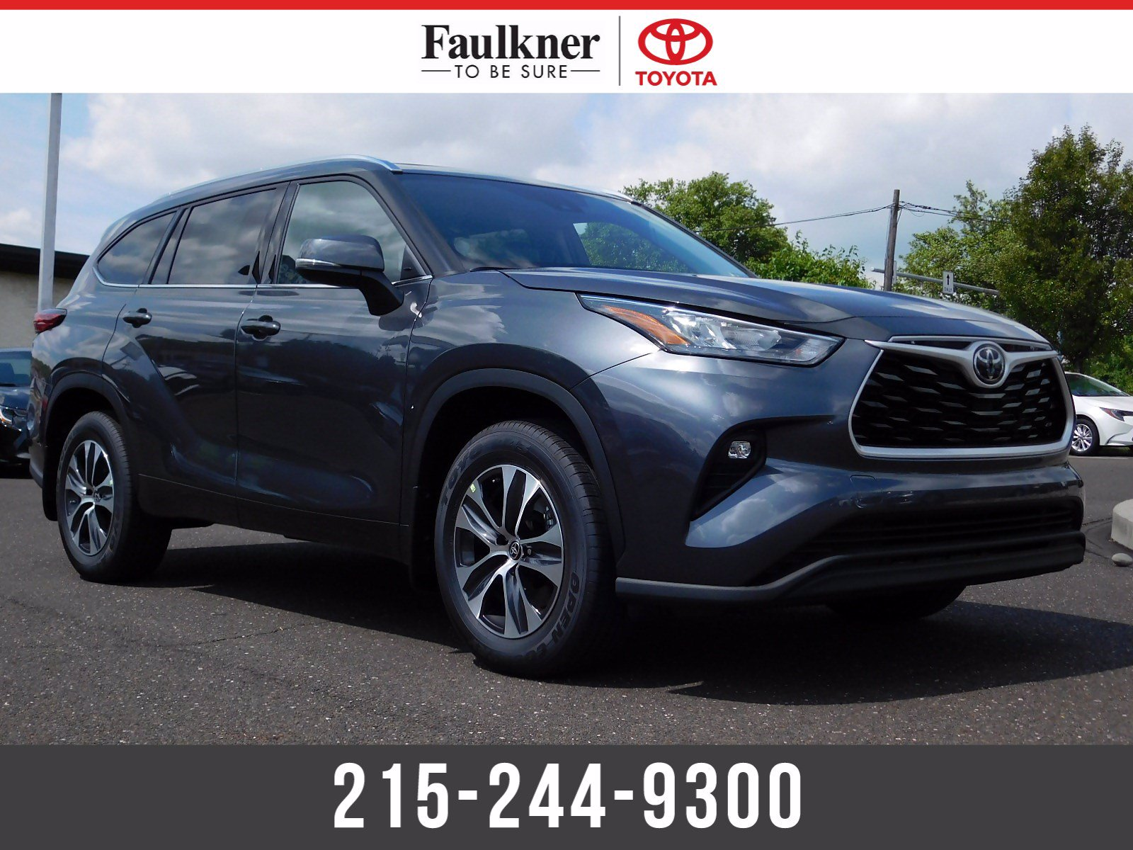 New 2020 Toyota Highlander XLE
