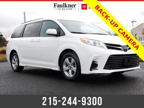 Certified Pre-Owned 2019 Toyota Sienna LE